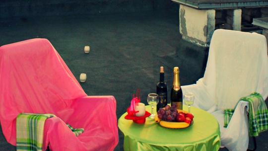 Романтический вечер на крыше в центре города - фото 4