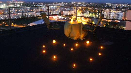 Романтический вечер на крыше Дома Советов - фото 2