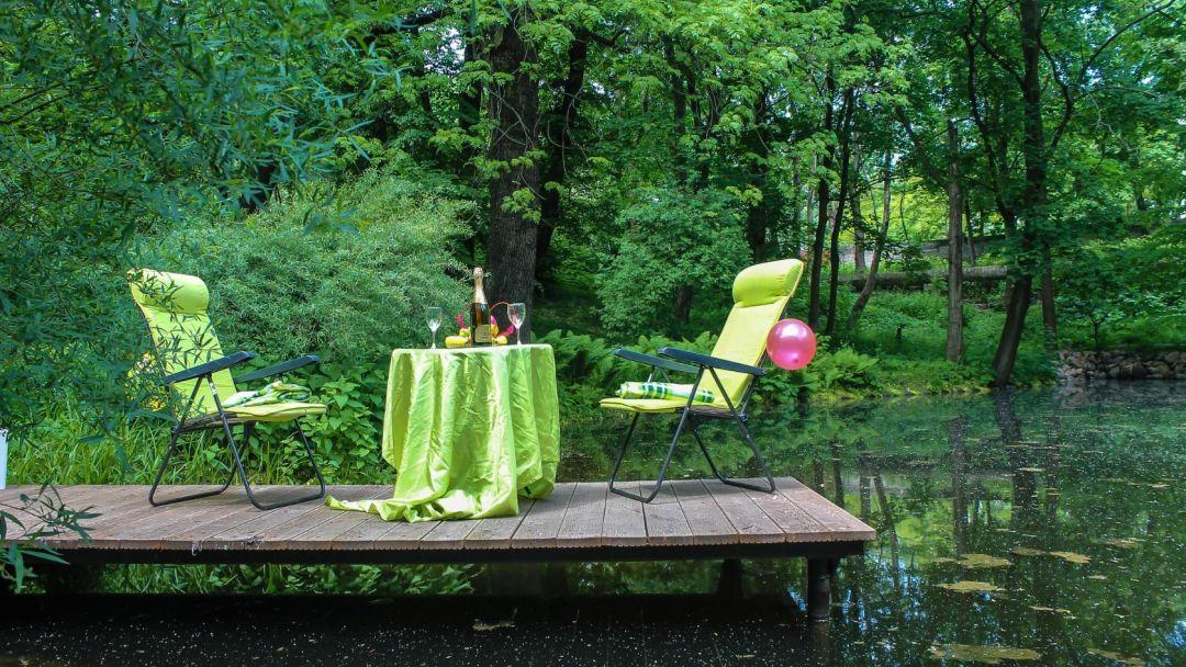Экскурсия Ужин у озера в ботаническом саду