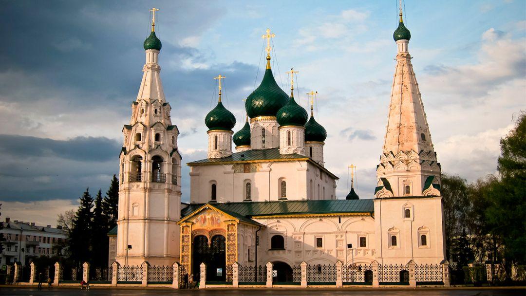 Пешеходная экскурсия по Ярославлю