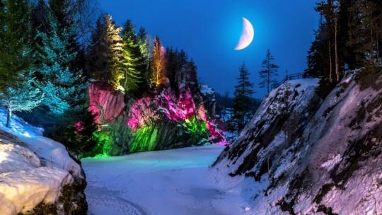 Новогодние водопады Карелии - фото 4