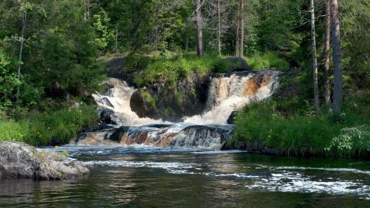 Новогодние водопады Карелии - фото 2
