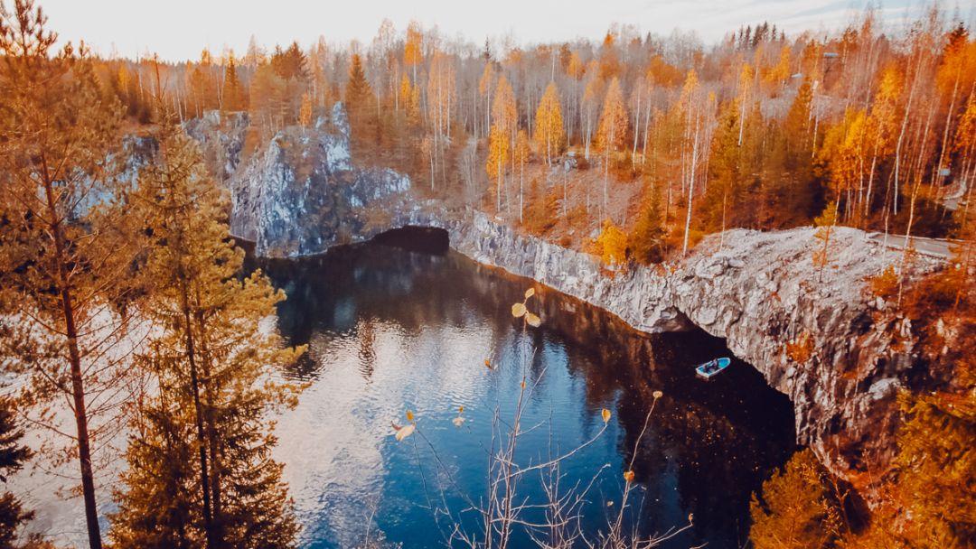 Экскурсия Вечерняя Рускеала + стендап-шоу