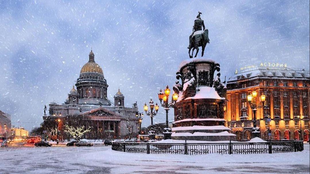 Зимние дворцы Санкт-Петербурга (Новый год 2019) - фото 2