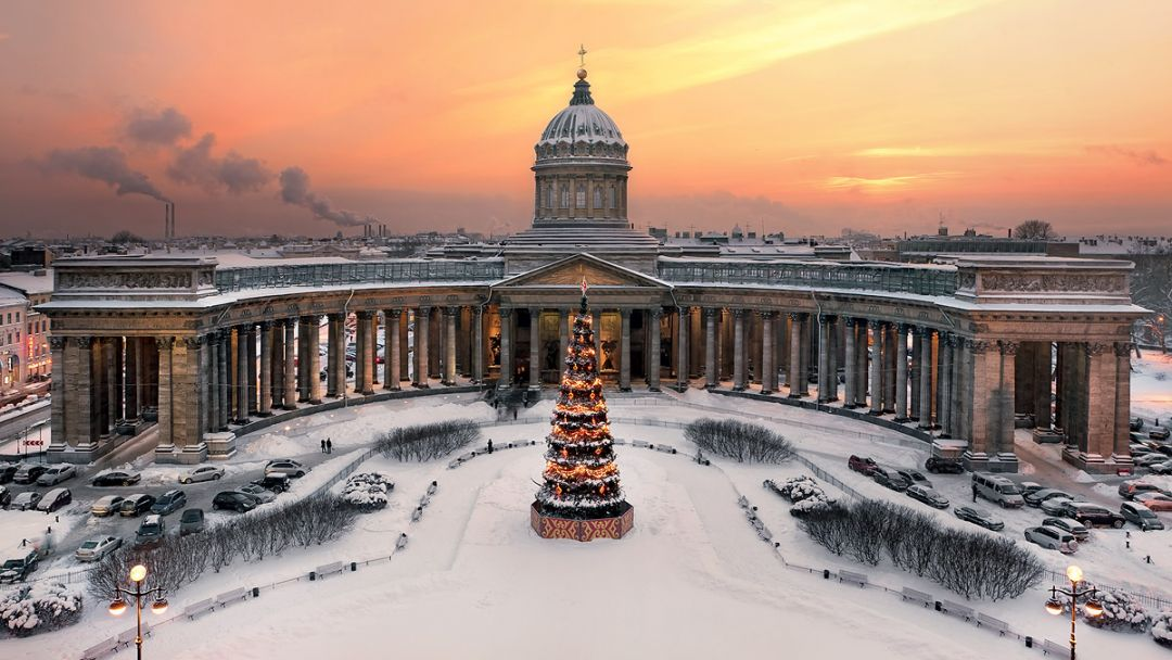 Зимние дворцы Санкт-Петербурга (Новый год 2019) - фото 3