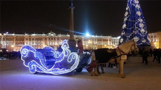 Экскурсия Рождественская сказка в Санкт-Петербурге