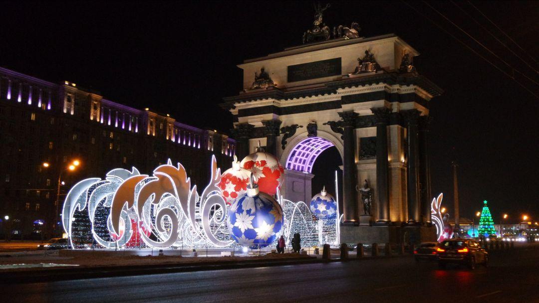 Новогоднее путешествие  с Дедушкой Морозом по Москве - фото 2