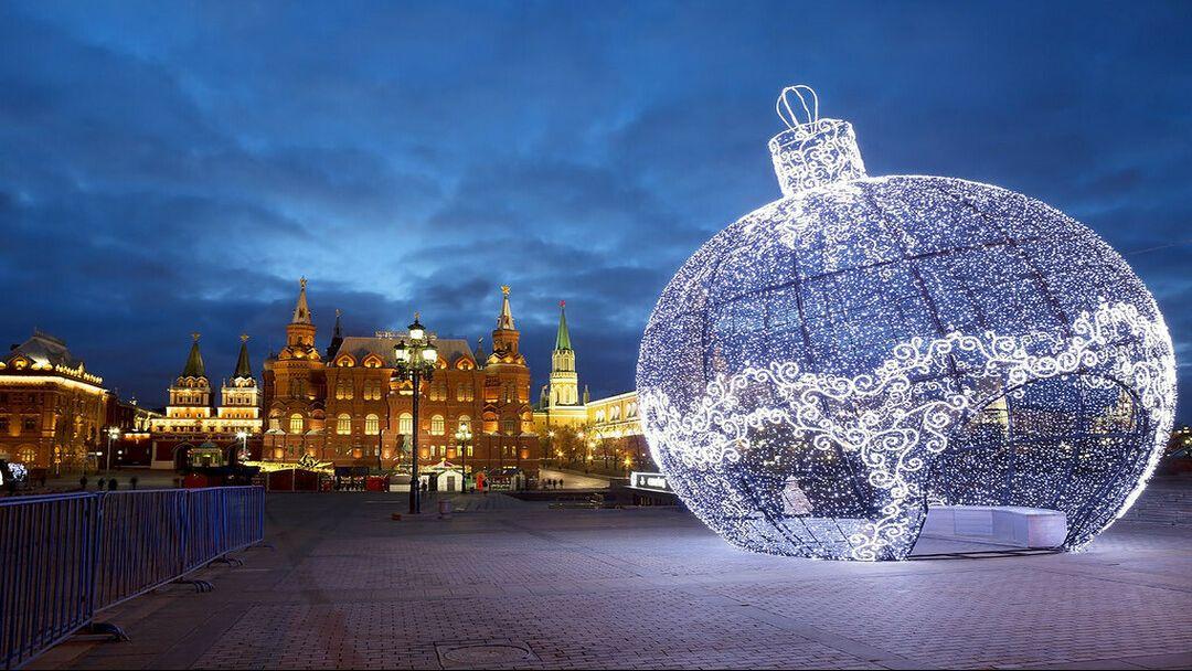Новогоднее путешествие  с Дедушкой Морозом по Москве - фото 3
