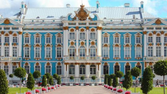 Пушкин Екатерининский дворец + Лицей - фото 2