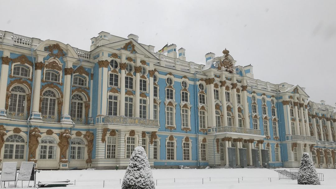 Пушкин Екатерининский дворец + Лицей - фото 6