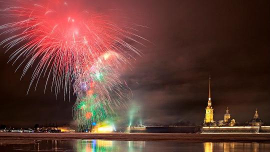 Экскурсия Новогодняя ночь на улицах Петербурга в Санкт-Петербурге