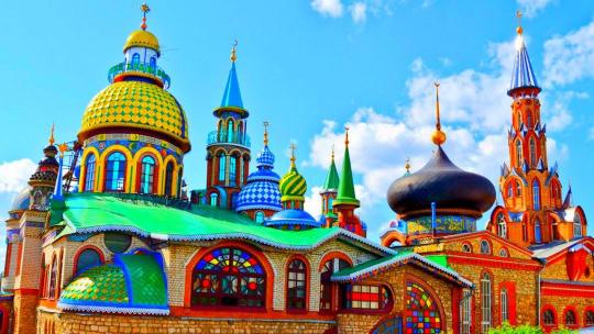 Экскурсия Свияжск + Храм всех религий + Раифский монастырь по Казани