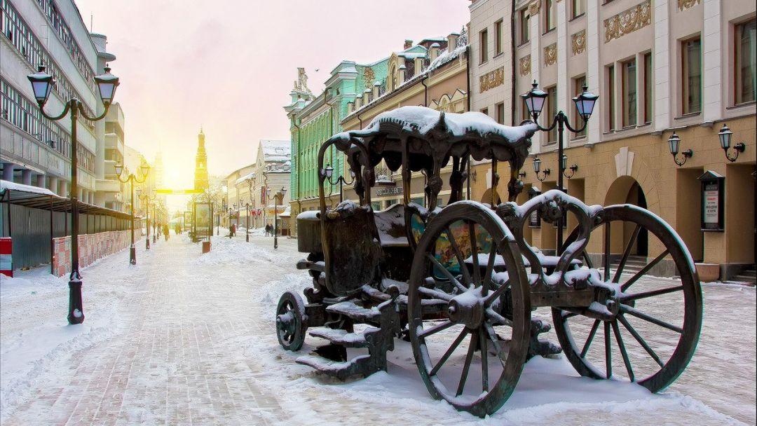 По улице Баумана (Казанский Арбат) + музей-галерея Константина Васильева - фото 4