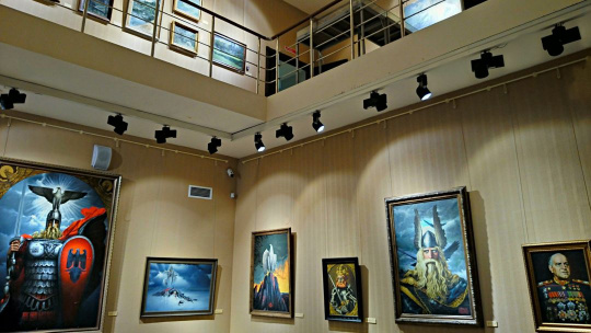 По улице Баумана (Казанский Арбат) + музей-галерея Константина Васильева - фото 5