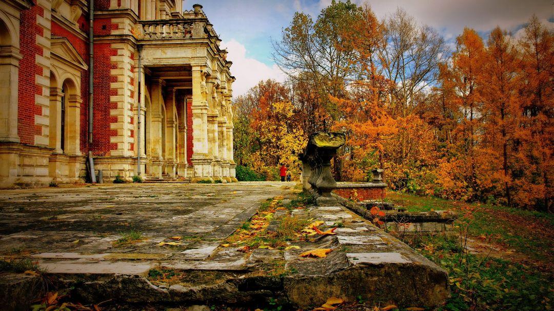 Баженов. Усадьба Быково: дворец, готическая церковь и английский парк - фото 2