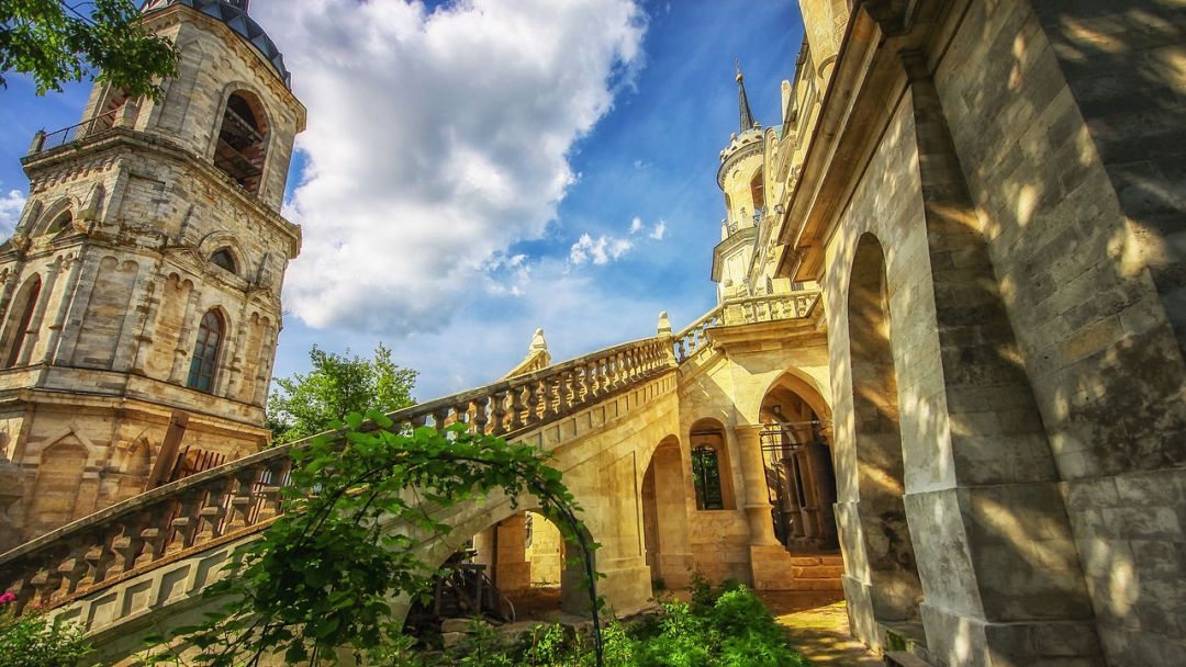 Баженов. Усадьба Быково: дворец, готическая церковь и английский парк - фото 3