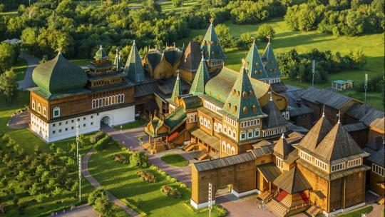 Восьмое чудо света - Дворец царя Алексея Михайловича в Коломенском - фото 2