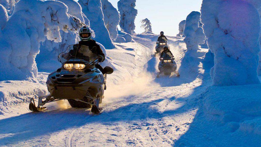 Сафари на снегоходах - фото 2
