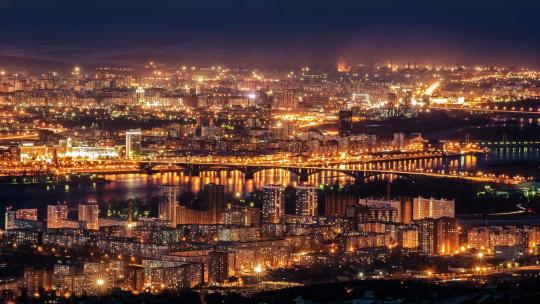 Экскурсия Под покровом ночи по Красноярску