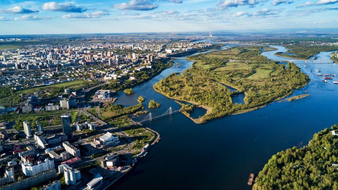 Экскурсия Красноярск с высоты