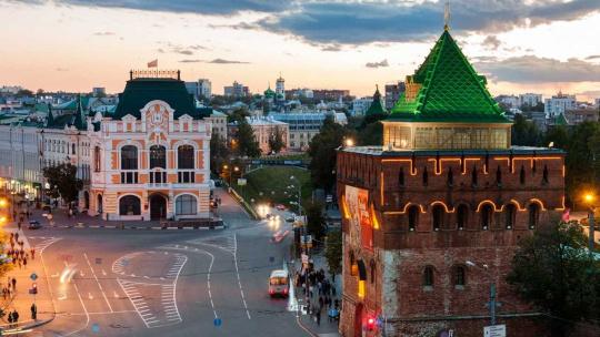 Экскурсия Автобусно-пешеходная экскурсия по Нижнему Новгороду по Нижнему Новгороду