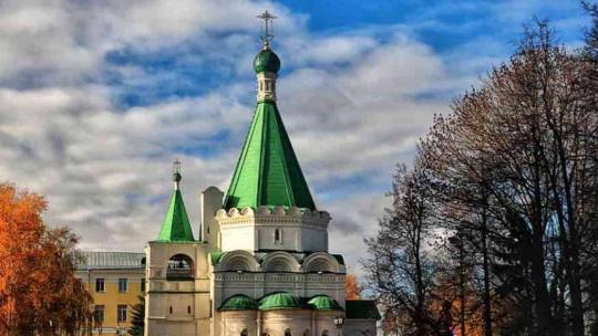 Михайло-Архангельский собор по Нижнему Новгороду