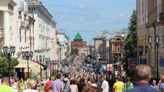 Большая Покровская по Нижнему Новгороду