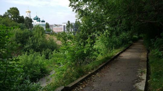 Почаинский Овраг в Нижнем Новгороде