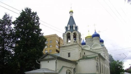Храм Жен-Мироносиц по Нижнему Новгороду