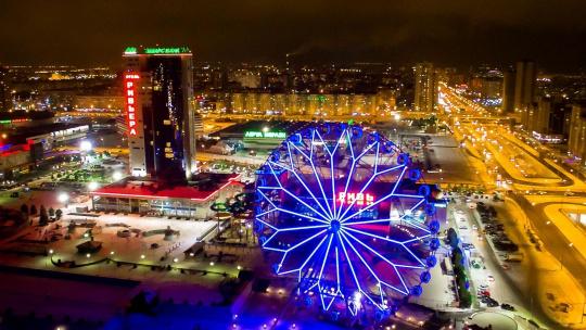 Вечерние огни Казани - фото 2