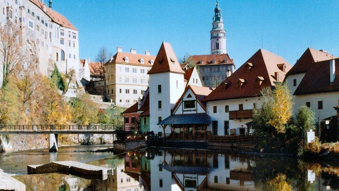 Чешский Крумлов и замок Глубока над Влатвой - фото 2