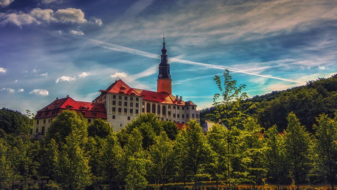 Город Майсен и замок Везенштайн в Праге