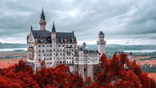 Замок Нойшванштайн  - фото 4