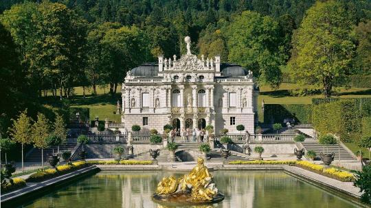 Экскурсия Дворец Линдерхоф по Мюнхену