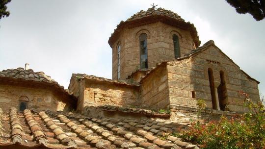Экскурсия По святым местам Афин - Монастырь Кесариания