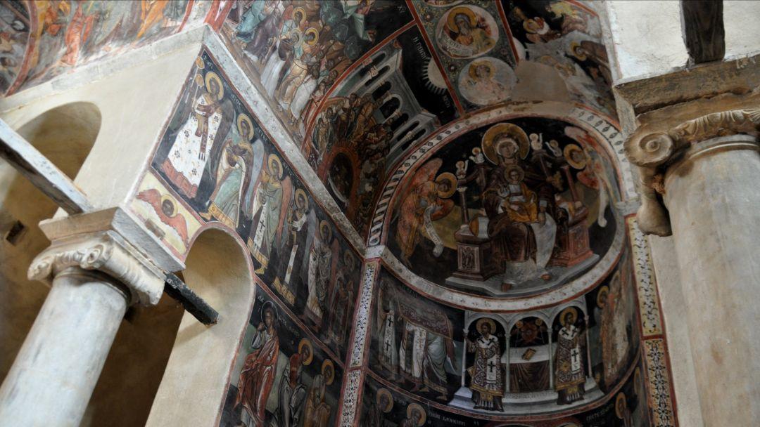 По святым местам Афин - Монастырь Кесариания - фото 2