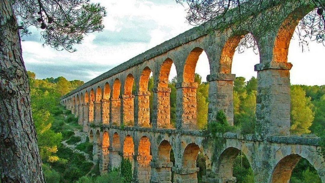 Древний Рим в Каталонии в Барселоне