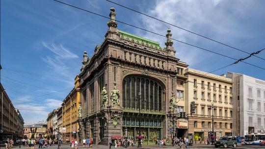 Магазин Купцов Елисеевых в Санкт-Петербурге