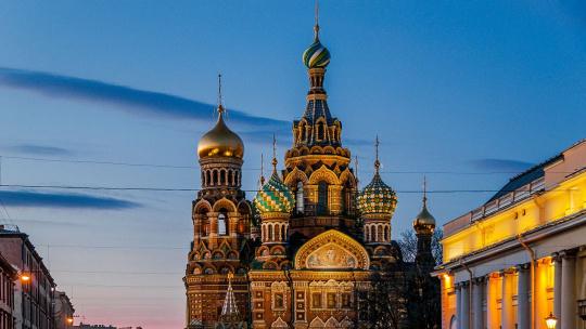 Спас на Крови  в Санкт-Петербурге