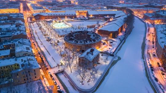 Новая Голландия в Санкт-Петербурге