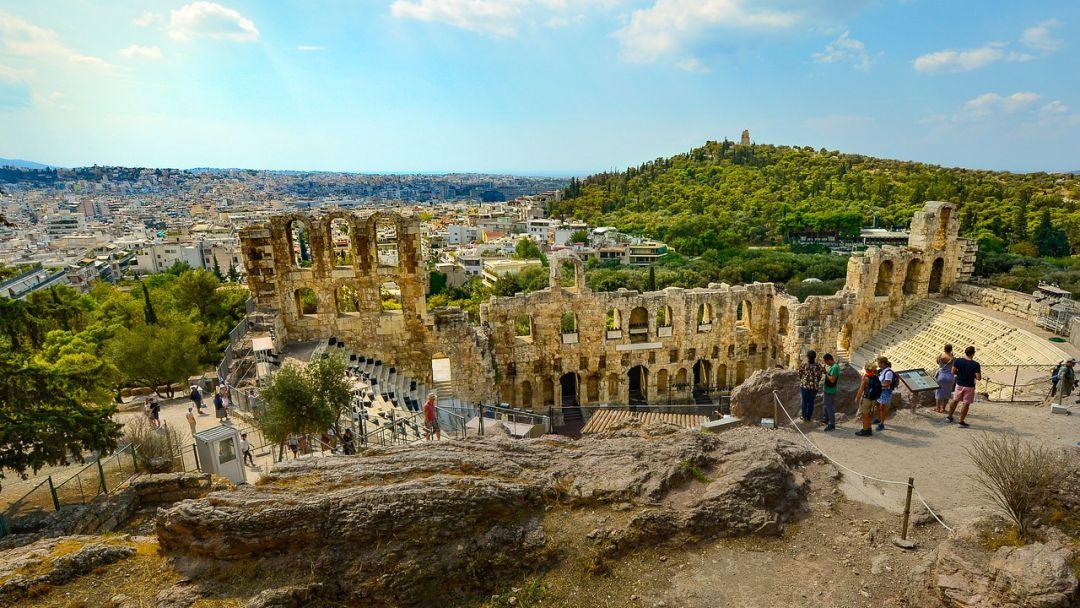 Афины – сокровищница древнего мира