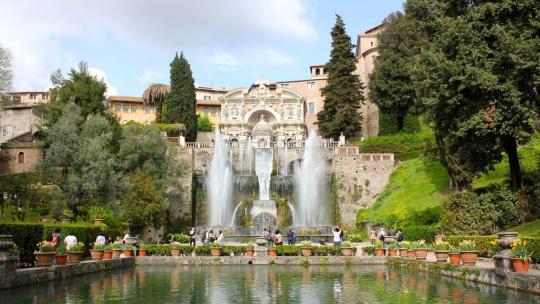Экскурсия Квест фонтаны Тиволи по Риму