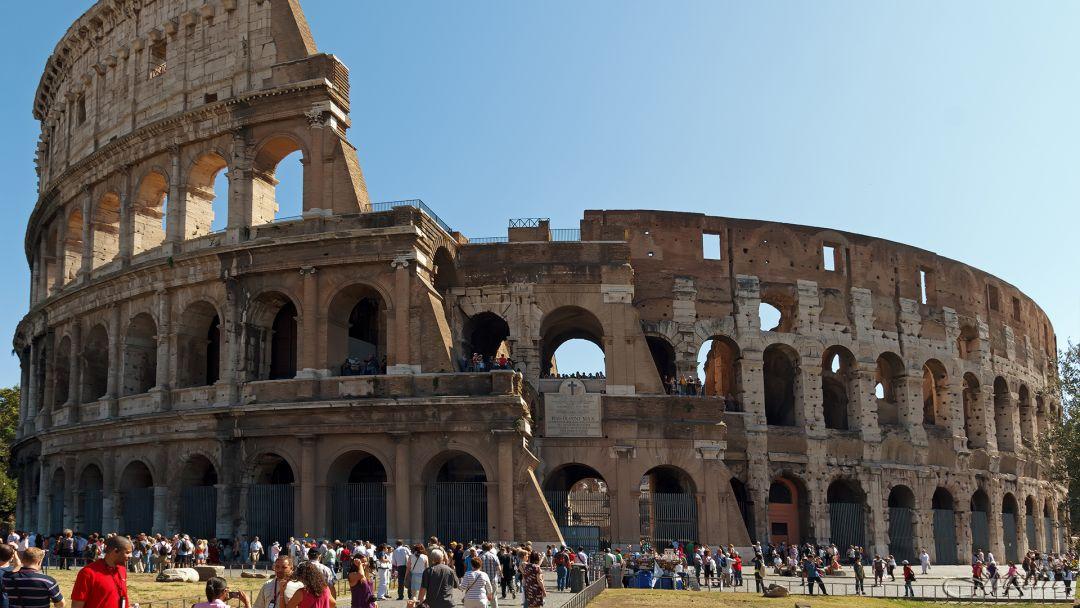 По Риму + экскурсия по Колизею