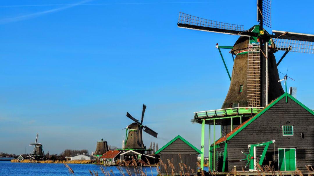 Экскурсия Голландия фольклорная - Заансе Сханс и Волендам