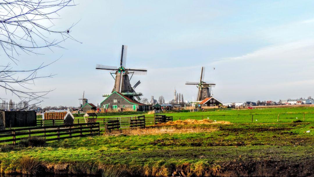 Голландия фольклорная - Заансе Сханс и Волендам - фото 2