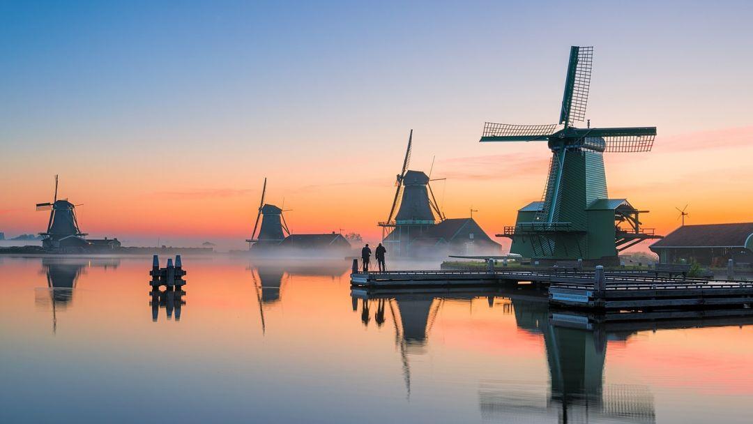 Голландия фольклорная - Заансе Сханс и Волендам - фото 3