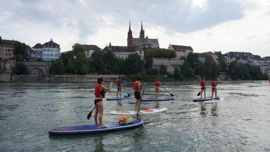 Экскурсия SUP тур по Дунаю по Будапешту