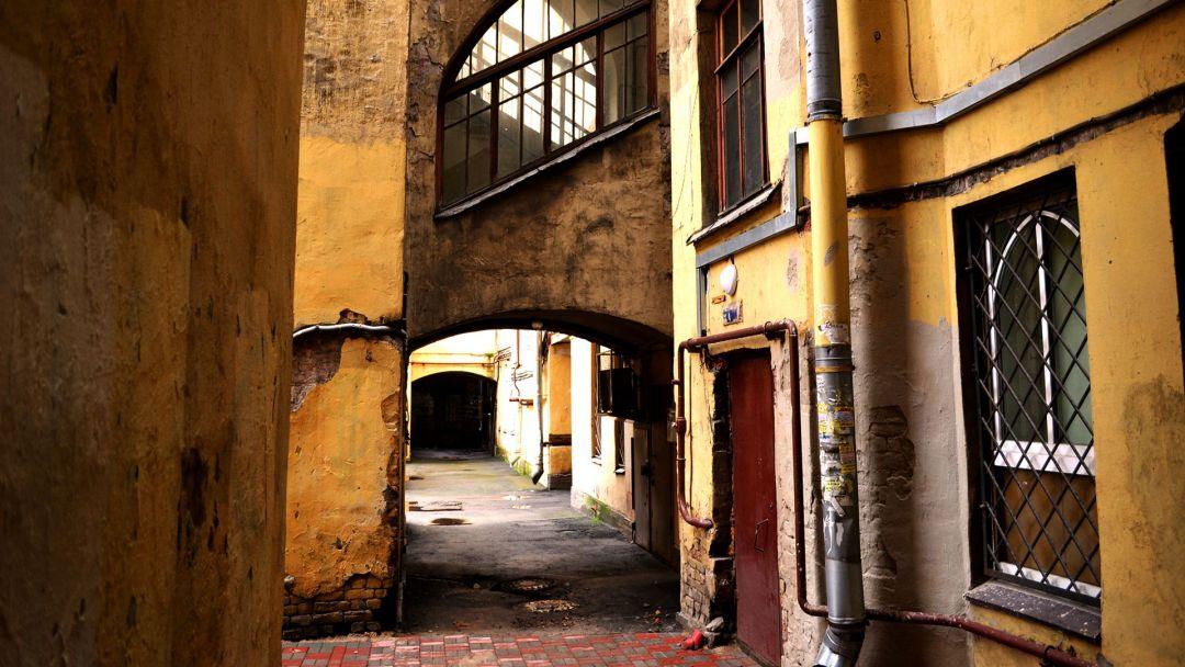 По дворам и парадным Петроградской стороны - фото 1