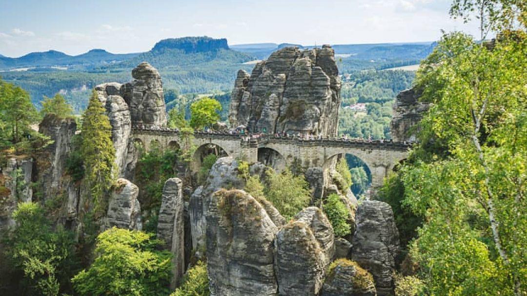 Экскурсия в Саксонскую Швейцарию - фото 5