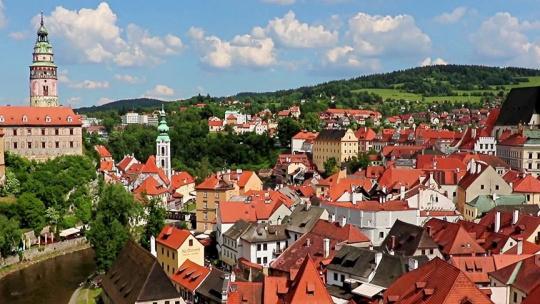 Чешский Крумлов и замок Глубока над Влатвой - фото 4